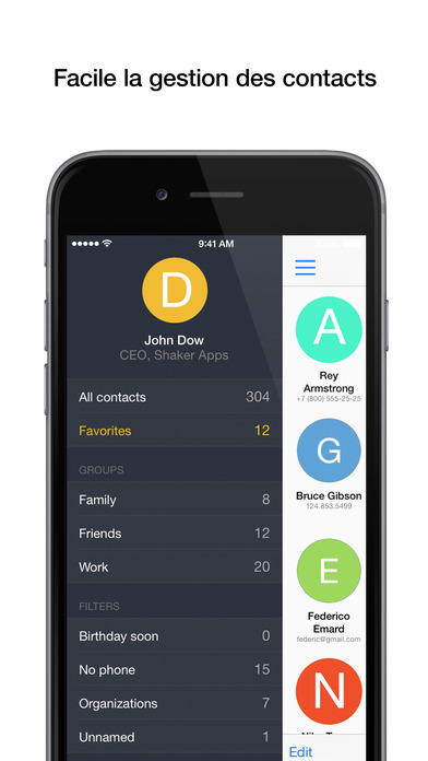 Screenshot PhoneBook Pro