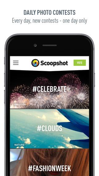 Scoopshot Screenshot