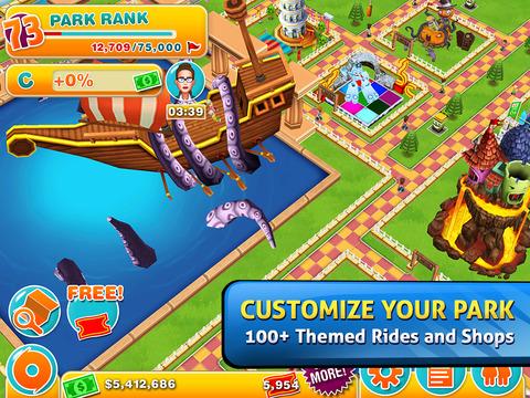Theme Park™ screenshot #2