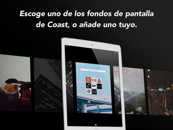 Navegador web Opera Coast Screenshot