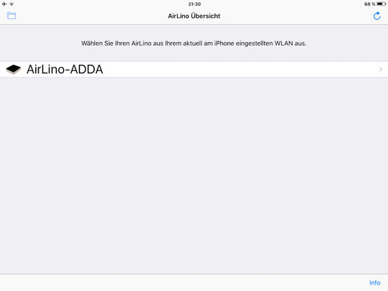 AirLino® Configurator - for iPad Screenshot