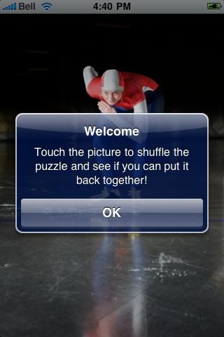 Speed Skater Slide Puzzle screenshot #2