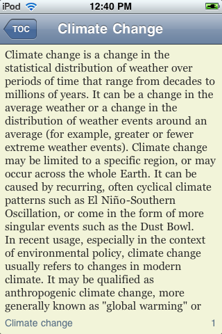 Climate Change - Just The Facts screenshot #3