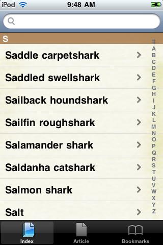 Sharks Study Guide screenshot #2