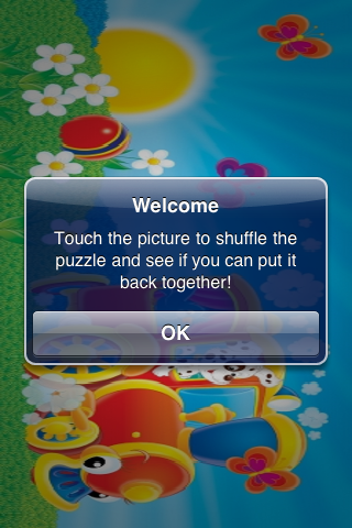 Fun Animal Train Slide Puzzle screenshot #2