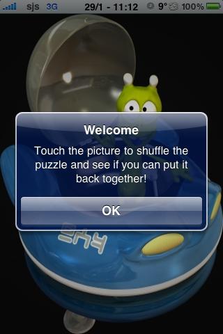 Alien Slide Puzzle screenshot #3