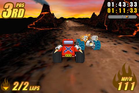 Burning Tires™ Free screenshot #2