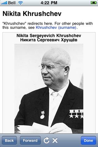 Nikita Khrushchev Quotes screenshot #1