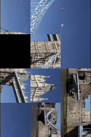 London Tower Bridge Slide Puzzle screenshot #3