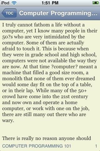 Computer Programming 101 screenshot #3