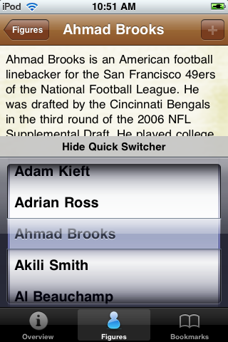 All Time Cincinnati Football Roster screenshot #3