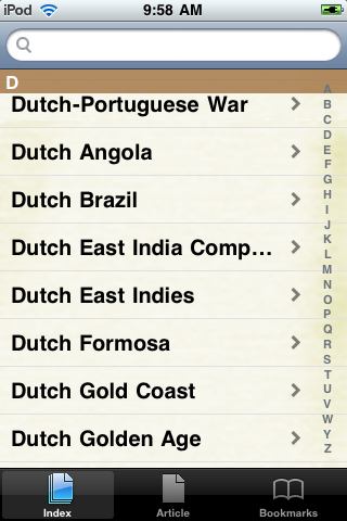 The Dutch Empire Study Guide screenshot #2