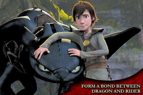 How to Train Your Dragon:  Flight of the Night Fury screenshot 2
