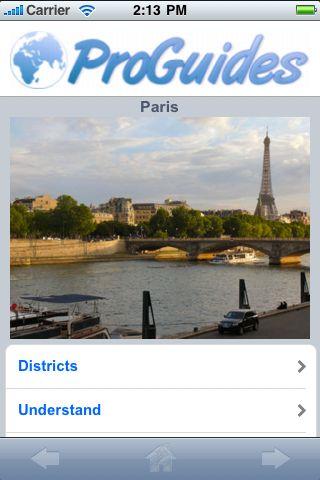 ProGuides - Paris screenshot #1