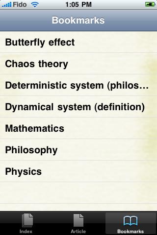 Chaos Theory Study Guide screenshot #3