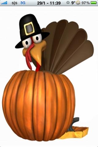 Thanksgiving Turkey Slide Puzzle screenshot #1