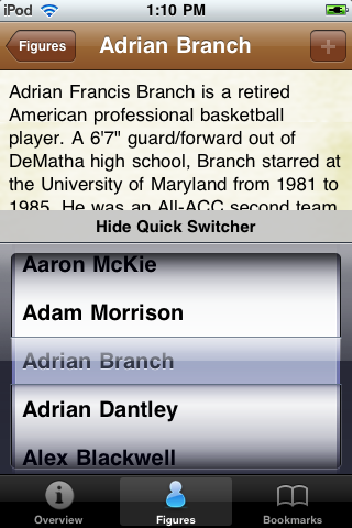 All Time Los Angeles L Basketball Roster screenshot #3