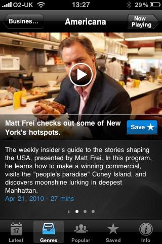 BBC Listener screenshot #2
