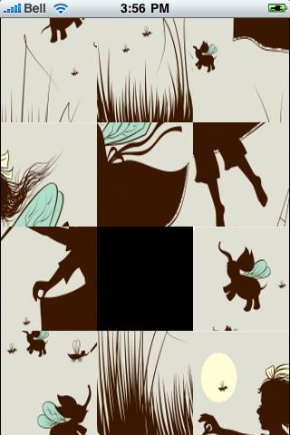 Magic Faeries Slide Puzzle screenshot #3