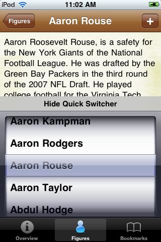 All Time Green Bay Football Roster screenshot #3