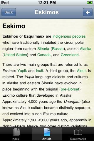 Eskimos Study Guide screenshot #1