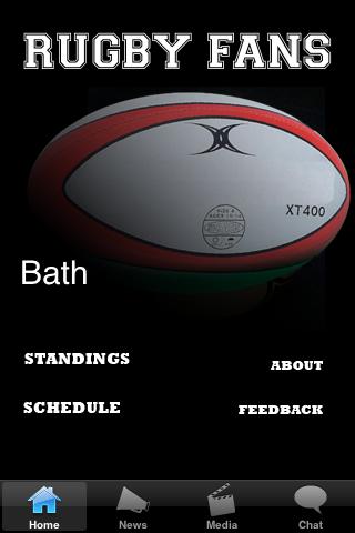 Rugby Fans - Bath screenshot #1
