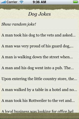 Dog Jokes screenshot #3