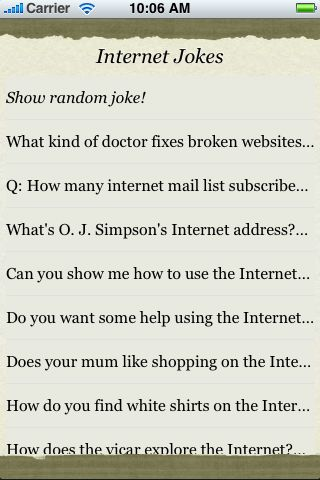 Internet Jokes screenshot #3