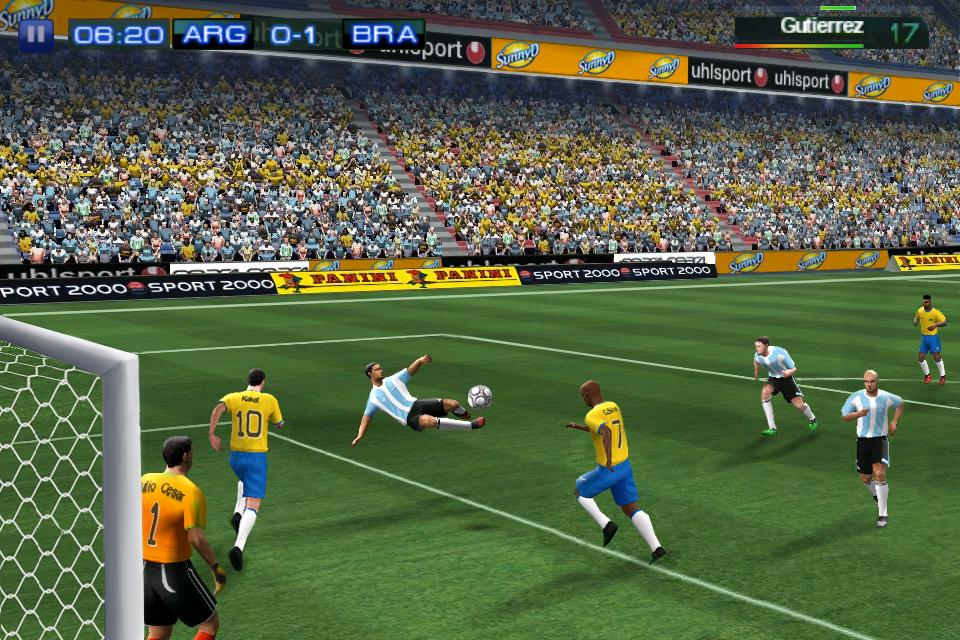 Real Soccer 2011 FREE screenshot #1