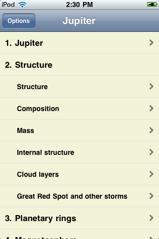 Jupiter screenshot #1