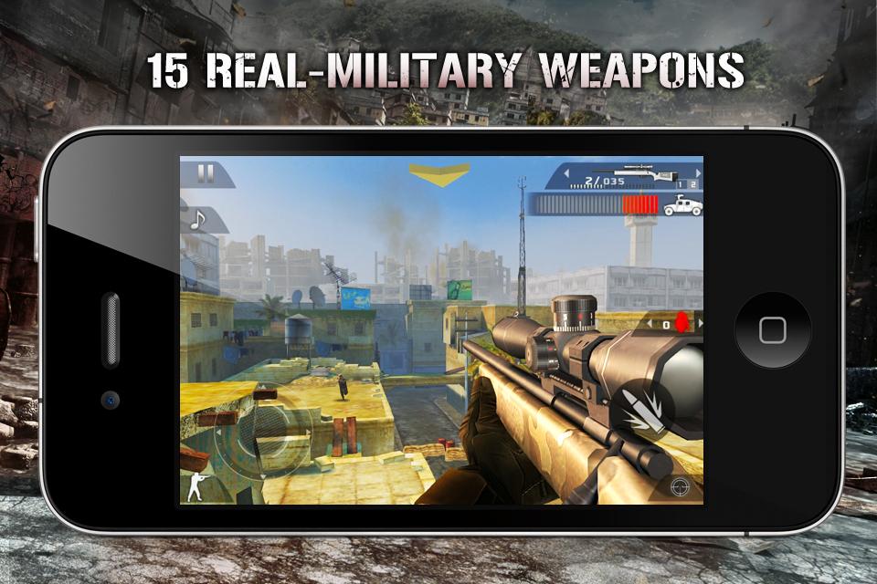 Modern Combat 2: Black Pegasus FREE screenshot #2