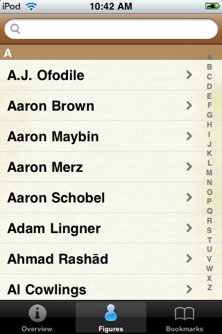 All Time Buffalo Football Roster screenshot #1