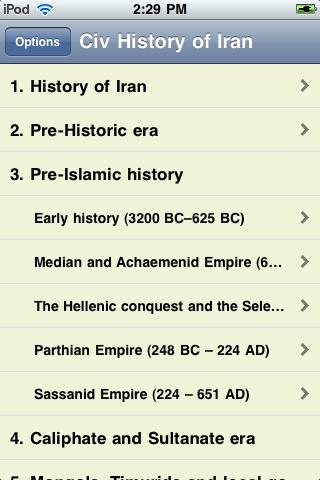 The History of Iran screenshot #3