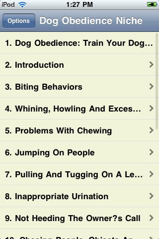 Dog Obedience screenshot #2