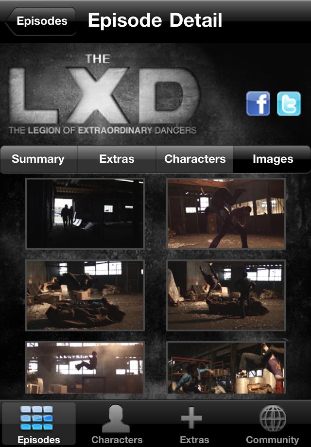 LXD screenshot #1