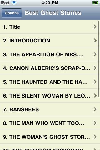 Best Ghost Stories screenshot #2