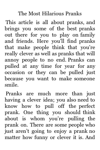 The Most Hilarious Pranks screenshot #1