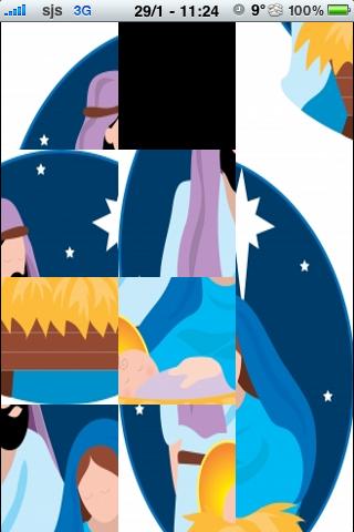 Nativity Scene Slide Puzzle screenshot #2