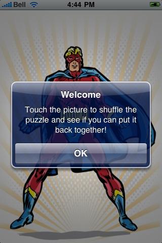 Super Hero Slide Puzzle screenshot #2