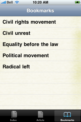 The Civil Rights Movement Study Guide screenshot #2