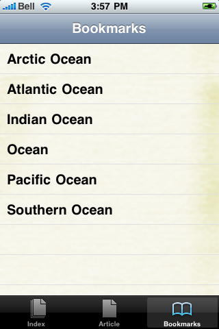Oceans Study Guide screenshot #2
