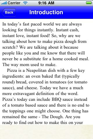 iGuides - Making Pizza Dough screenshot #3
