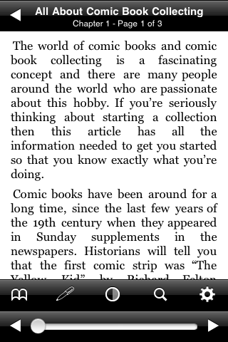 All About Comic Book Collecting screenshot #2