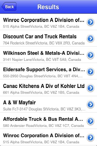 iLocate - Automobile Sales screenshot #4