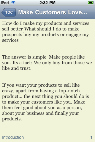 Make Customers Love You screenshot #1