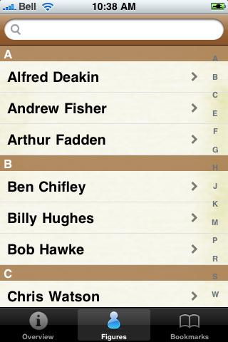 Prime Ministers of Australia Pocket Book screenshot #3