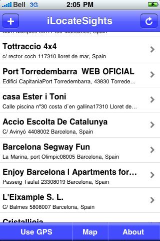Barcelona Sights screenshot #2