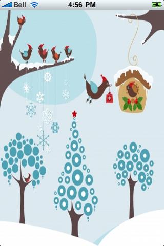 Winter Birds Slide Puzzle screenshot #1