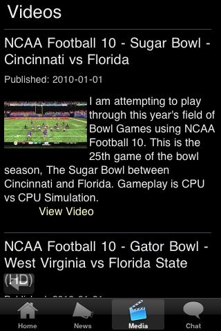 Bowling Green College Football Fans screenshot #5