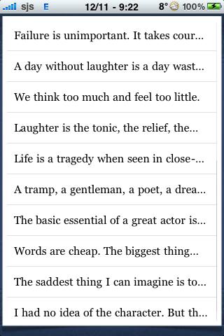 Charlie Chaplin Quotes screenshot #2